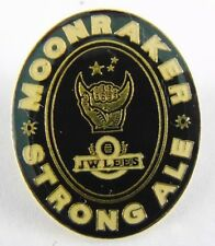 J W Lees Moonraker Strong Ale Brewery Pin Badge - Beer - Bitter -