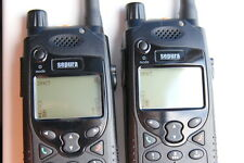 Set of 2 x SEPURA SRP2000 TETRA Radios + Charger + Batteries (US 450 MHz band)