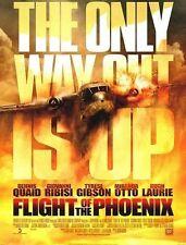 "The Flight Of The Phoenix movie poster - Dennis Quaid - 13.5"" x 17.5"""
