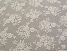 """New Ivory Lace Rose Bouquet design Tablecloth. 52"""" x 70"""""""