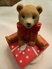 Schmid 1983 Teddy Bear Music Box - Works Great