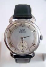 Vintage S/Steel DOGMA PRIMA 15J  Winding Watch c.1940's* MINT Cond* SERVICED