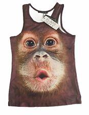 Mr 1991 Inc & Miss GO   Baby Orangutang Singlet   Size Medium - NWT