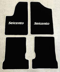 Beifahrer - FIAT SEICENTO Bj 1998-2010 2 Stück Gummifußmatten Fahrer Vorne