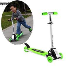 Kinder Faltbare 4 Räder Kickboard Cityroller Roller Kickboard Tretroller Grün