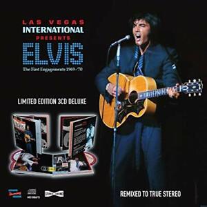 ELVIS PRESLEY-LAS VEGAS INTERNATIONAL PRESENTS ELVIS - THE FIRST ENGAGEM CD NEUF