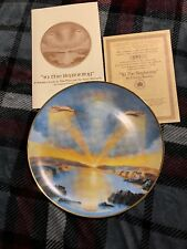 In the Beginning Collector Plate by Artist Yiannis Koutsis