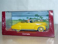 TINTIN Herge Coche LINCOLN ZEPHYR Las Siete Bolas de Cristal miniature car 1/43