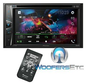 "PIONEER AVH-G225BT CAR STEREO DOUBLE DIN 6.2"" TV CD USB DVD BLUETOOTH REMOTE NEW"