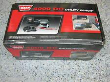 Warn 94000 Trailer Utility Winch Hoist 4000 LB 12V DC W/ Remote Roller Fairlead
