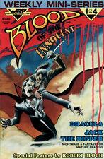 BLOOD OF THE INNOCENT #1-4 COMPLETE SET LOT FULL RUN WARP DRACULA JACK RIPPER