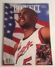Beckett BasketBall Monthly July 1996 #72 Grant Hill Cover