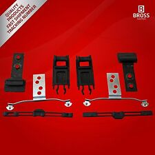 8 Parts Sunroof Repair Set for BMW E46: 54138246027 1998-2004