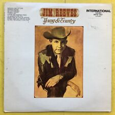 Jim Reeves - YOUNG & Country - RCA ints-1317 ex-condition Vinyle LP
