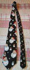 Hallmark Novelties Men's Tie Christmas Santa Claus Holidays