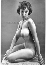 Julie Wills EARLY MODELING pic nude busty breasts print female photo art girl M2