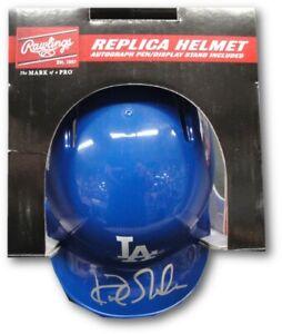 Kirk Gibson Hand  Signed Autographed Mini Helmet Los Angeles Dodgers NL MVP JSA