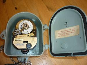 Vintage Venner Time Switch FD1B10S - Clock Handwound
