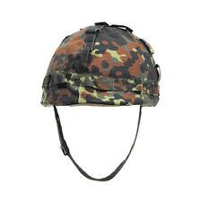 Mfh Plastic Helm Militaire Gevecht Ontmoette Bw De Duitse Flecktarn Camo Doek Co