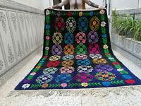 Moroccan Handmade Vintage Beni Ourain Rug Berber Tribal Rug Wool Carpet