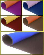 Set da 5 fogli neoprene bifoderato 35x40 - spessore 3 mm - colori come da foto