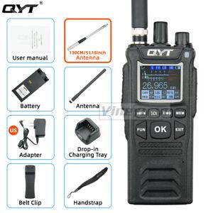 QYT CB-58 Walkie Talkie 27MHz AM/FM CB Ham Radio Transceiver With 51inch Antenna