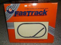 LIONEL FASTRACK 6-12044 SIDING ADD ON TRACK PACK  IN ORIGINAL BOX