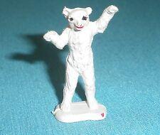 159A Jouet ancien Starlux Clairet plastique Animal polaire Ours Figurine 1/43