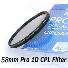 Nicna 58mm Pro 1D Slim CPL Polarizing Digital Filter Canon Sigma Nikon Sony