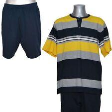 Jockey Herren Schlafanzug Pyjama kurz Jersey Knopfleiste Baumwolle Gr s / 48