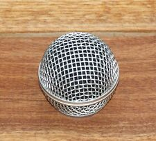 "New Replacement Grill for ""58"" style Microphone, Silver"