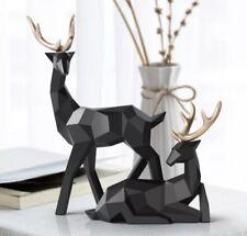 2020 Deers Sculpture Resin Deer Statue Nordic Decoration Home Decor Statues Deer