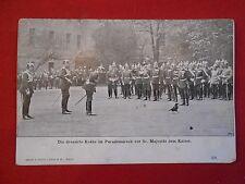 POSTALES original die dressirte cuervo en el desfile antes de sr.majestät muelle