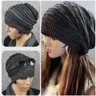 Winter Women Men Beanie Hat Oversize Slouchy Baggy Unisex Knit Ski Cap Skull NEW