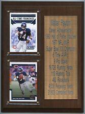 "NFL Football Chicago Bears Walter Payton Career Achievements 8"" x 10"" Plaque"