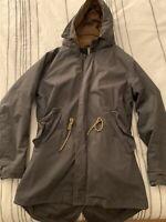 Scotch & Soda Fishtail XL Parka Coat Jacket (Olive/Green) $379 New