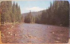 Idaho Postcard LOCHSA RIVER Powell Ranger Station Lewis & Clark Camp Ross Hall