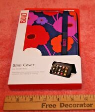 New Built Slim Cover for Kindle Fire in package Flower Pattern
