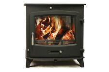 Aquaburn 30kW Boiler Stove Woodburner Multifuel Central Heating And Hot Water
