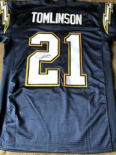 Ladainian Tomlinson Signed Autographed Authentic Reebok SanDiego Chargers Jersey