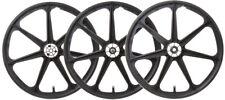 Trike Mag Wheel Set Blk F/Rear-Drive & Idler