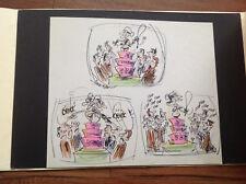 Playboy Original production Animation Art Buck Brown Naughty Granny Storyboard