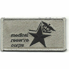 ARMY 47th Medical Company MEDICAL RESERVE CORPS EMT Hook Badge Military Patch