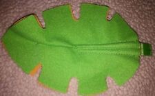 Fisher Price Rainforest Melodies Play Mat SOFT Felt LEAF Replacement part EUC
