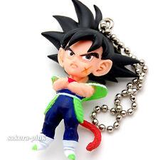 Bardock (Father of Goku) DragonBall UDM09 mini Figure Key Chain Authentic BANDAI