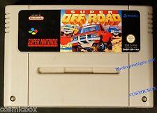 SUPER OFF ROAD jeu video ancien SUPER NES cartouche NINTENDO testé versio Europe