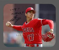 Item#6053 Shohei Ohtani Los Angles Angels Facsimile Autographed Mouse Pad