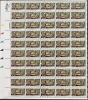USA Briefmarken Bogen 50x 20 Cent 1983 Civilian Conservation Corps #30698-S