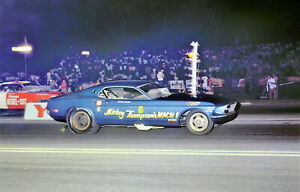 """MIckey Thompson Ford Mustang Mach I Funny Car Poster 11""""x17"""" Photo"""
