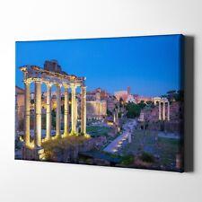 Forum Romanum Rom Italien Foto-Leinwand inkl. Keilrahmen / Poster
